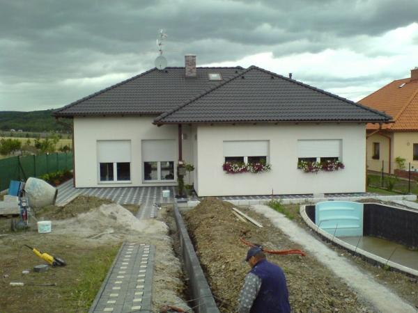 Novostavba rodinného domu Dobříš 2