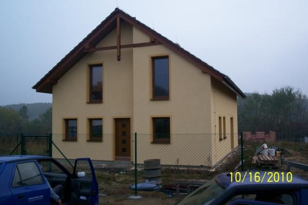 Novostavba rodinného domu Trhové Dušníky