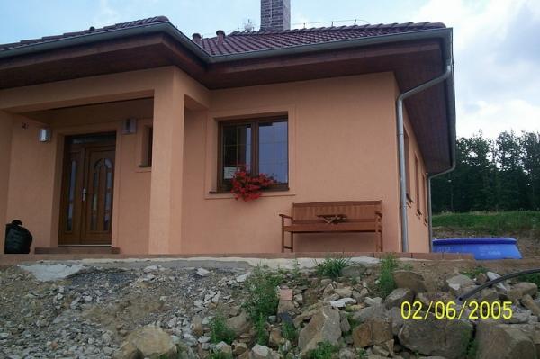 Novostavba rodinného domu v Narysově