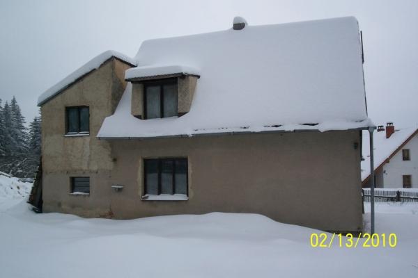 Rodinný dům před